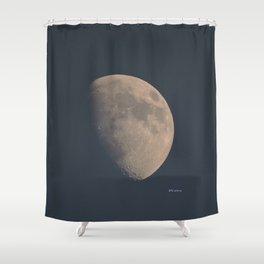 November Half Moon Shower Curtain