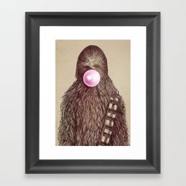 Big Chew Framed Art Print