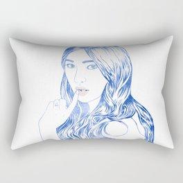 Water Nymph XCVI Rectangular Pillow
