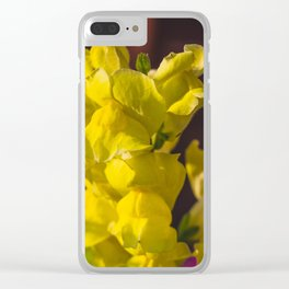 Snapdragon 1 Clear iPhone Case