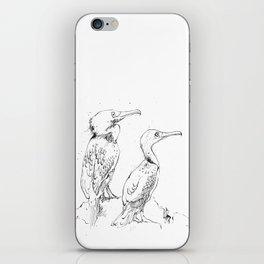 Inky Cormorants iPhone Skin