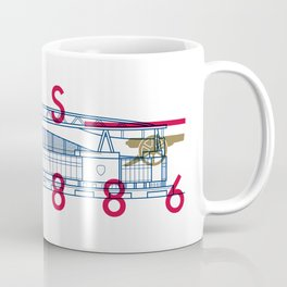 Emirates - Arsenal - Typoline Stadiums Coffee Mug