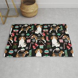 Beagle christmas gift wrap pillow phone case cute beagle dog design Rug