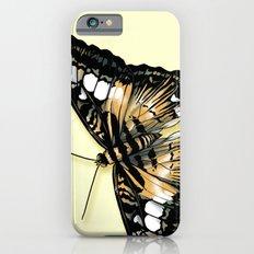 Papillon jaune et noir Slim Case iPhone 6s