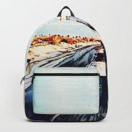 Evaporating Saguaro Sunset Backpack