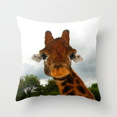 Giraffe. Throw Pillow