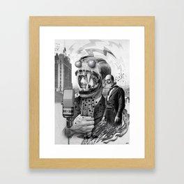 """""""The Great Speech"""" Framed Art Print"""