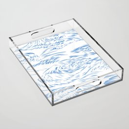 MicroWave Goodbye Acrylic Tray