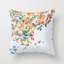 Sprinkles Party II Throw Pillow