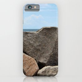 Heart-Shaped Rock iPhone Case