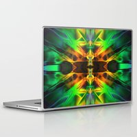 neon Laptop & iPad Skins featuring Neon by Assiyam