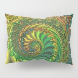 Dragon's Lair - Fractal Art Pillow Sham