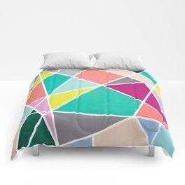 Geometric Spotlights Comforters
