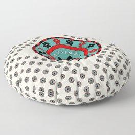 Katsino Las Vegas (animals cats) Floor Pillow