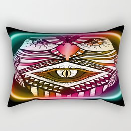 Night Hawk Rectangular Pillow