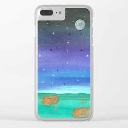 skyscapes 15 Clear iPhone Case