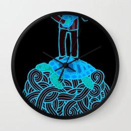 Calaca con Caguama Wall Clock