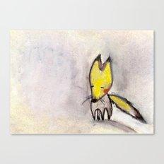 a little fox Canvas Print