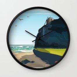 castle rock northern ireland Wall Clock