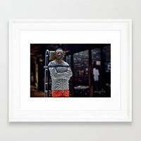 silence of the lambs Framed Art Prints featuring The Silence of the Lambs by TJAguilar Photos