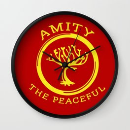 Divergent - Amity The Peaceful Wall Clock