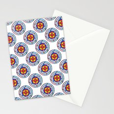 Celtic Wingcircle White Stationery Cards