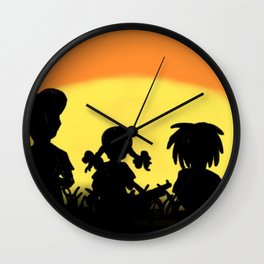 Just Another Day On Planet Earth Wall Clock