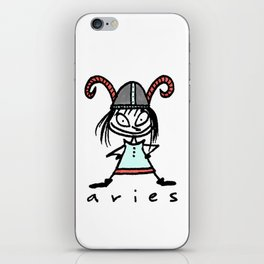 aries in the house(s)! iPhone Skin