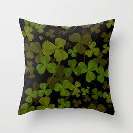 Saint Patrick's Throw Pillow
