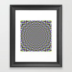 Starry Pulse Framed Art Print