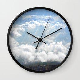 Rainbow Cloud Wall Clock