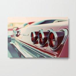 Taillights Metal Print