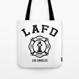 Firefighters LA Tote Bag