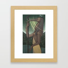Thoth the Magician Framed Art Print