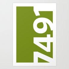 7491 Art Print