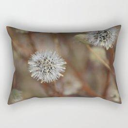 Closeup Of Mature Seed-head Coachella Wildlife Preserve Rectangular Pillow