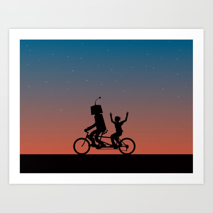 Before They Were Our Enemies, They Were Our Best Friends Art Print