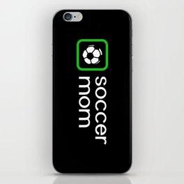 Soccer Mom (Green) iPhone Skin