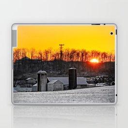 Mid-Winter Sunrise Laptop & iPad Skin
