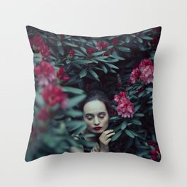 Within nature Throw Pillow