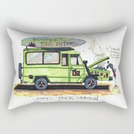 Food Truck Heroes Rectangular Pillow