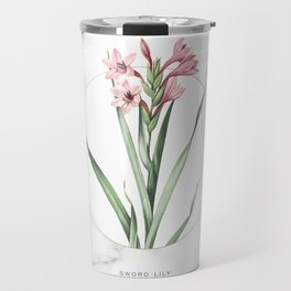 Sword Lily Flower Travel Mug