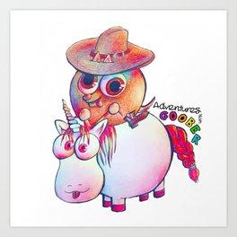 Goober's Wild West Adventure Art Print