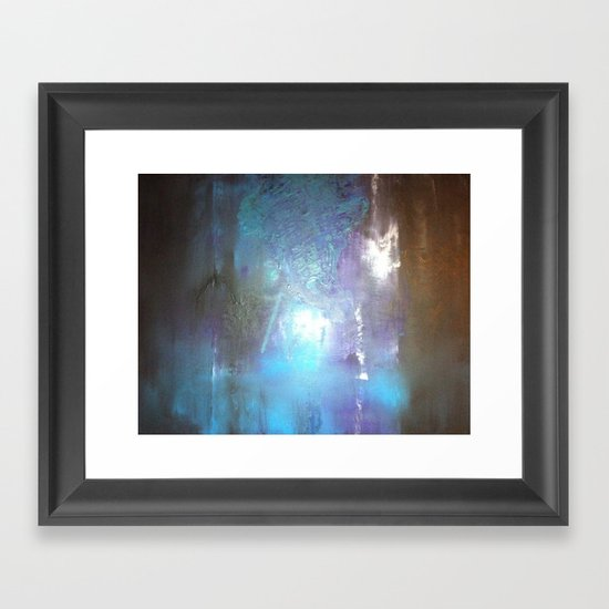 Brain Stem Framed Art Print