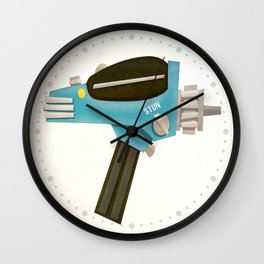 Set phasers to stun! Wall Clock