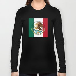 Mexican National Coat of Arms & Seal (HQ image) Long Sleeve T-shirt
