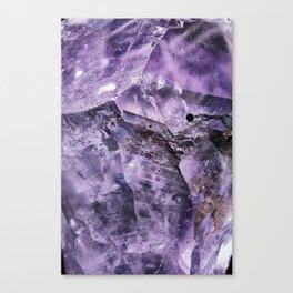 Amethyst Crystal Canvas Print