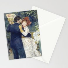 The Country Dance by Renoir Stationery Cards