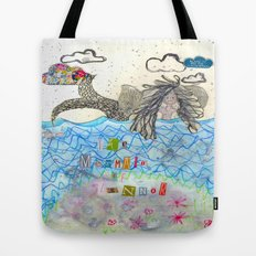 The Mermaid Of Zennor Tote Bag