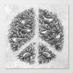 Peace Naturalis Canvas Print